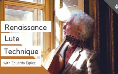 Renaissance Lute Technique